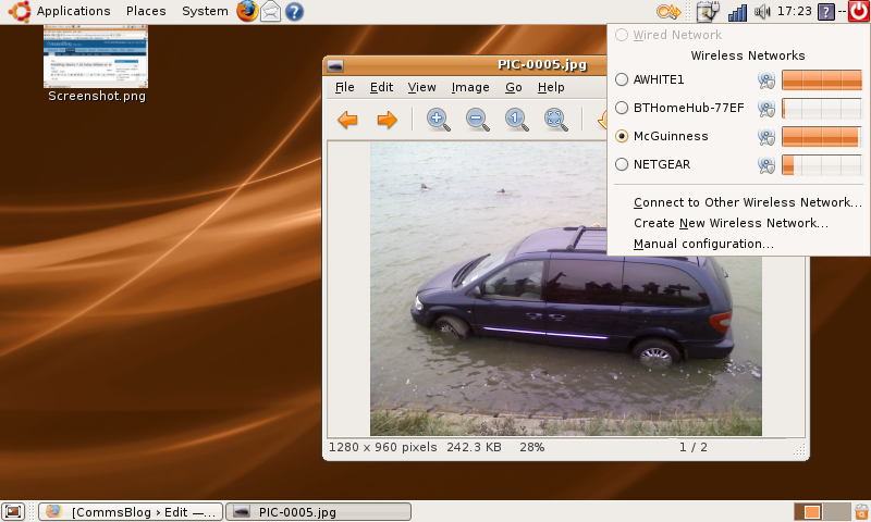 Ubuntu on Eee PC Printer