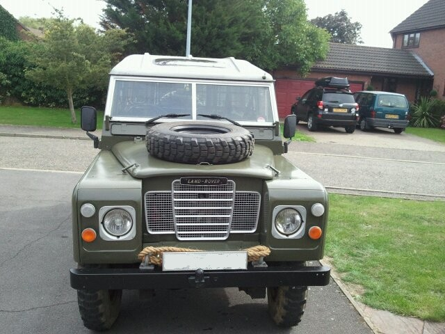 The Sarge - 1983 Series III Land Rover