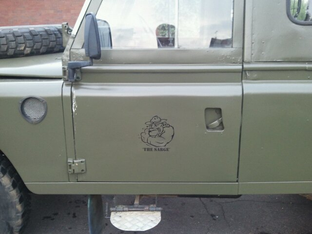 Commsblog Quot The Sarge Quot 1983 Series Iii Land Rover Commsblog